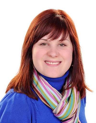 Head Shot of Professor Kristeen McKee, Assistant Professor of Communication Studies at Huntington University