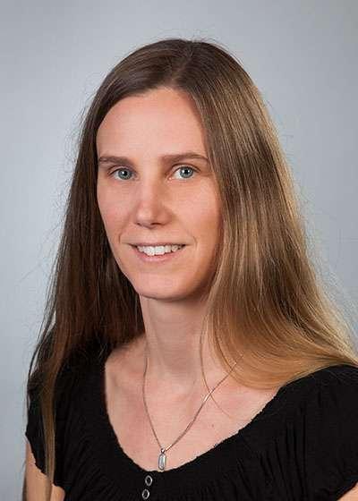 Head shot of Dr. Natasha Gerolami, Head Librarian of the J.W. Tate Library at Huntington University
