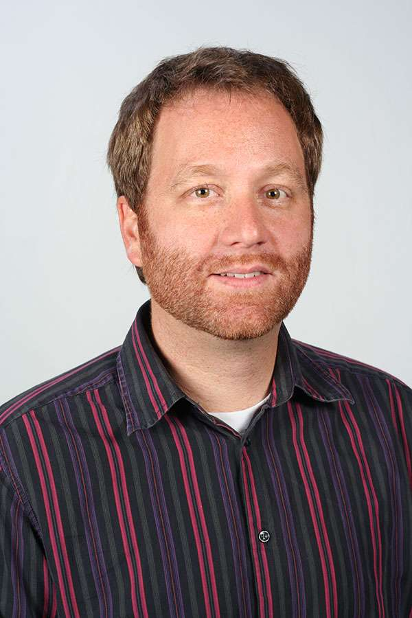 Head shot of Phil Parker, Dean of Residence and Student Life at Huntington University