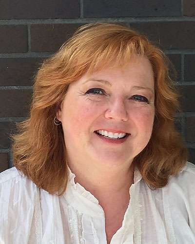 Head Shot of Alison Hood, Department Chair and Assistant Professor Religious Studies, Theology and Ethics at Huntington University