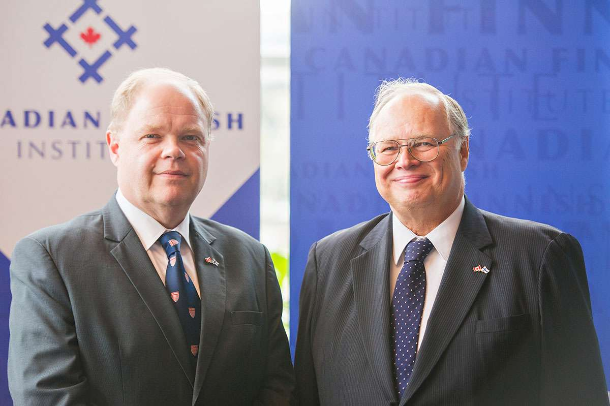 News Release - Huntington University Honours Finnish Ambassador and Launches Canadian Finnish Institute