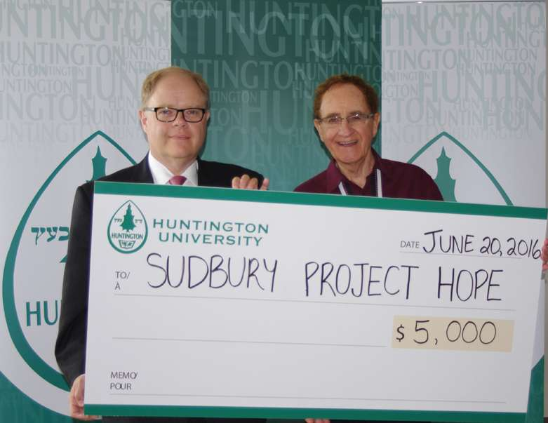 News Release - Huntington University Signs On As Academic Sponsor of Sudbury Project Hope